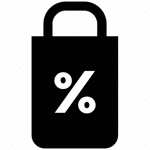 lock, padlock, percent sign, protection concept, safe, secure icon