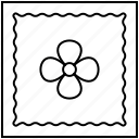 design, handkerchief, stitch, tailor icon