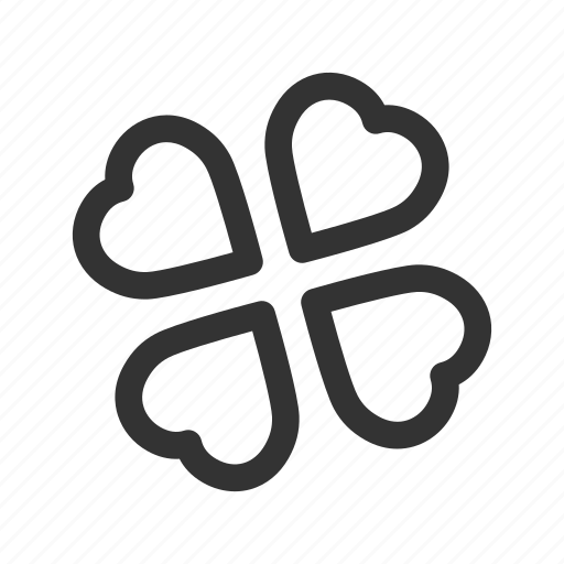 casino, clover, four-leaf clover, gambling, luck, shadies icon