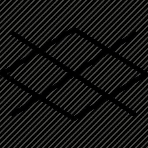 checker, decor, design, pattern, rombus, shape, shapes icon