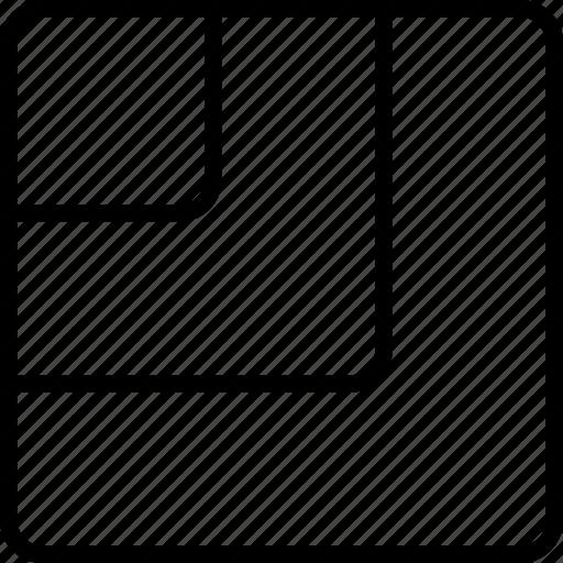 pattern, shape, size, square, stripes icon