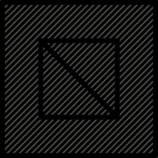 decor, design, pattern, shape, squares icon
