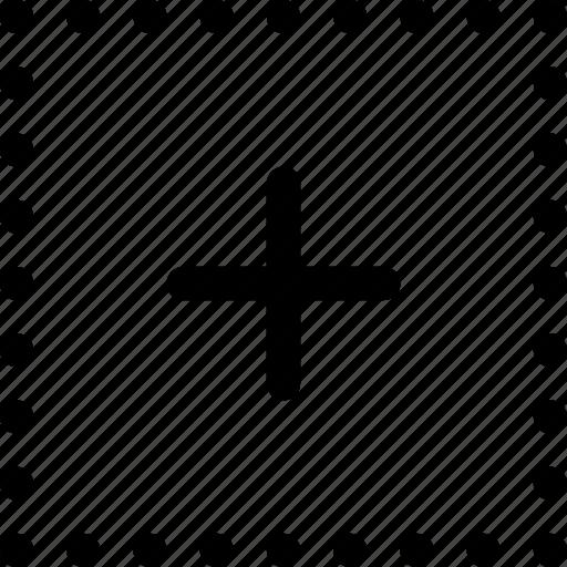 center, design, dots, grid, position, squares, subdivide icon