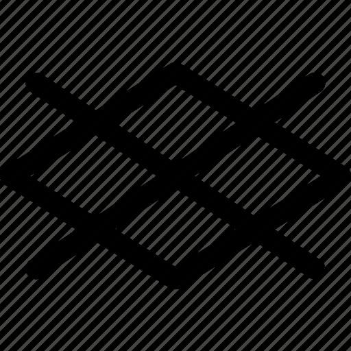 checker, decor, design, pattern, rhombus, shapes icon