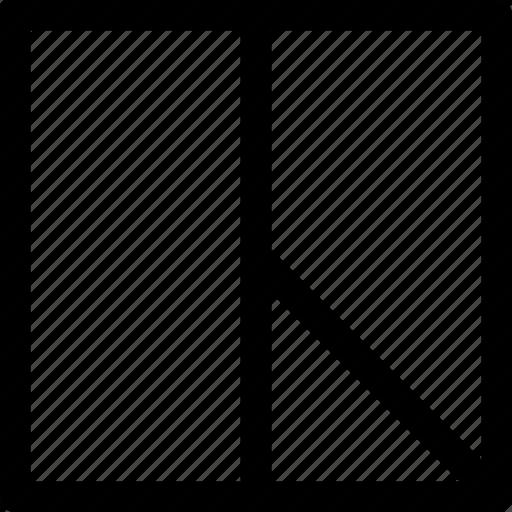 cutout, design, pattern, rectangle, square icon