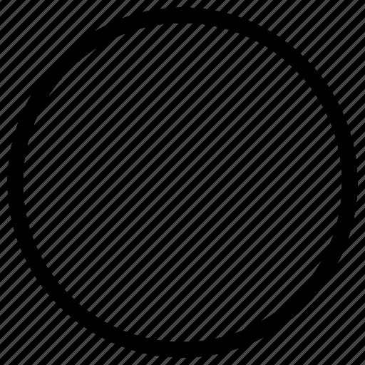 circle, shapes icon