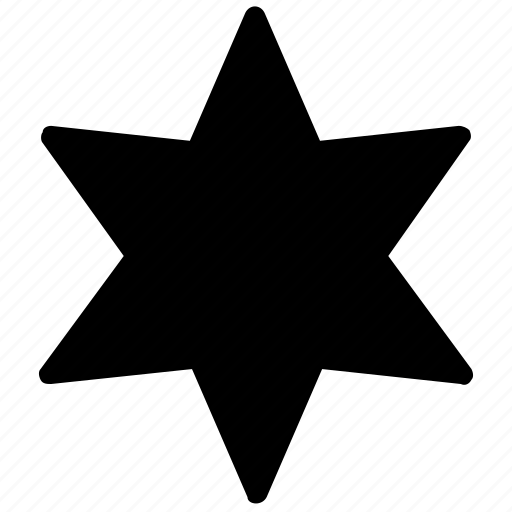 geometry, shapes, star icon