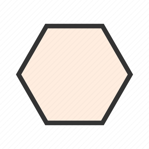 decoration, design, graphic, hexagon, pattern, pentagon icon