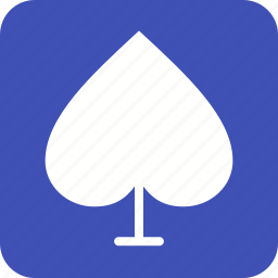 card, fun, game, playing, set, spade icon