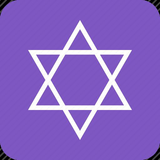 geometry, polygon, shape, sketch, star icon