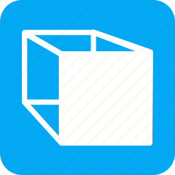 cube, cubes, cylinder, geometry, mathematics, triangle icon