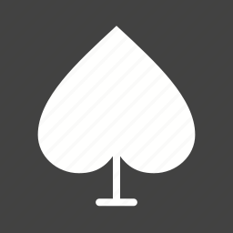 card, face, fun, game, geometric, playing, spade icon