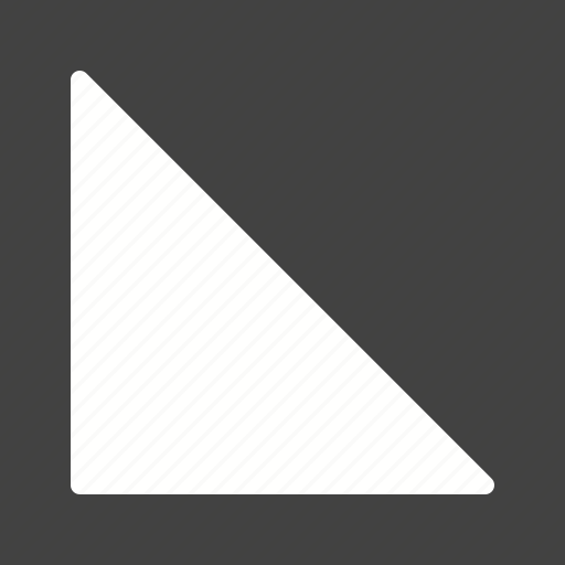 angle, concept, design, geometry, pattern, right, triangle icon