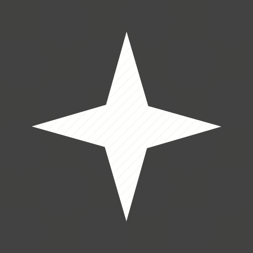 compass, geometry, north, shape, sketch, star icon
