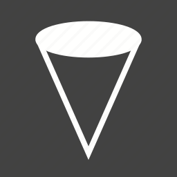 abstract, cone, design, geometric, geometry, graphic, mathematics icon