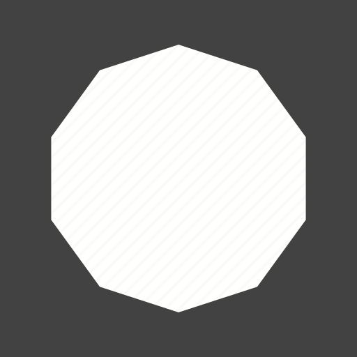 art, beautiful, decagon, design, geometric, graphic, pattern icon