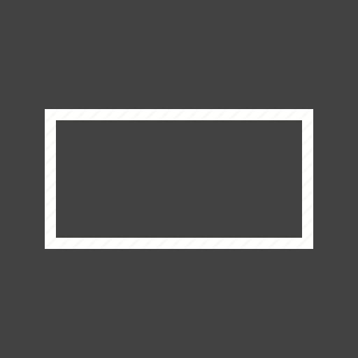 design, drawn, frame, rectangle, set, square icon