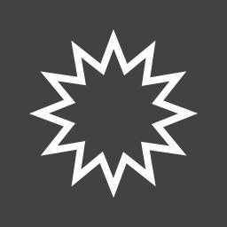 ball, blast, bomb, explosion, fire, light, smoke icon
