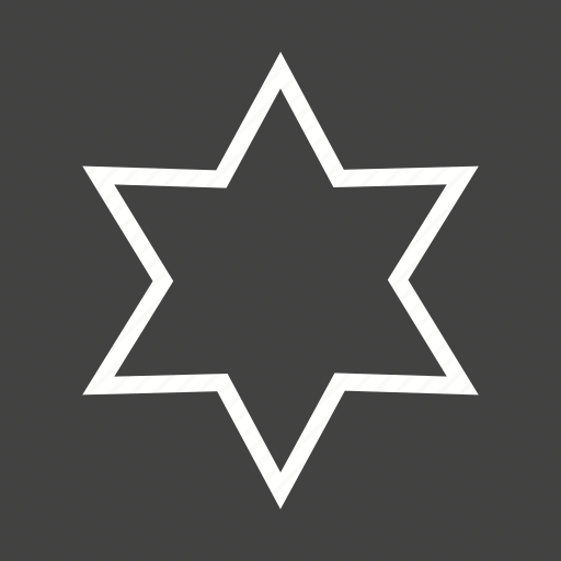 compass, geometry, graphic, polygon, shape, sketch, star icon