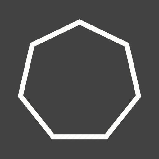 cylinder, drawing, geometry, hexagon, mathematics, octagon, pyramid icon