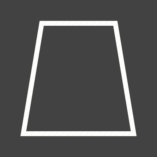 book, education, geometric, shape, shapes, trapezoid, triangle icon