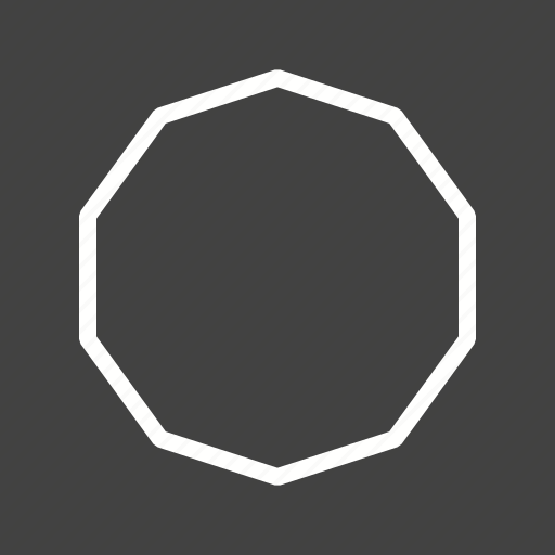 art, beautiful, decagon, design, geometric, graphic, pattern icon