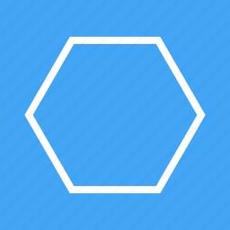 decoration, design, graphic, hexagon, pattern, pentagon icon