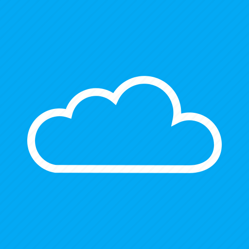 blue, cloud, clouds, design, sky, white icon