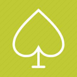 card, face, fun, playing, set, spade icon