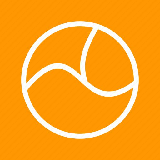 chart, circle, cycle, diagram, pie, presentation, three icon