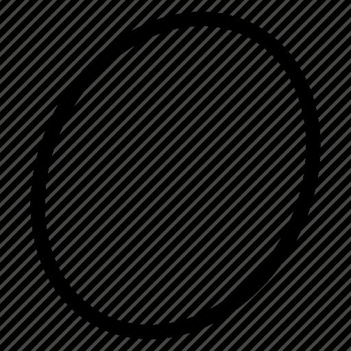ellipse, ellipse icon, ellipse sign, ellipse symbol icon