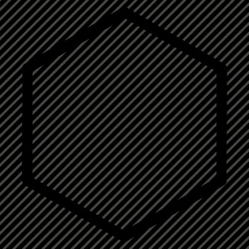 Hexagon, hexagon icon, hexagon shape, hexagon sign icon ...