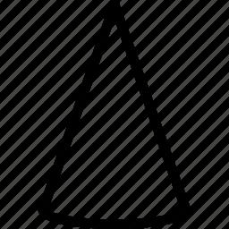 cone, cream, grid, lolly, shape icon
