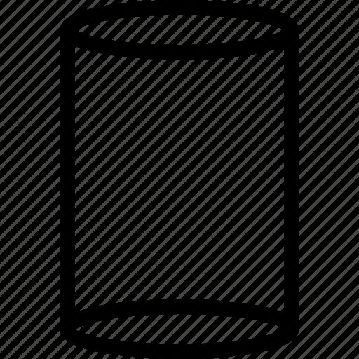 Cylinder, grid, shape, tank icon - Download on Iconfinder