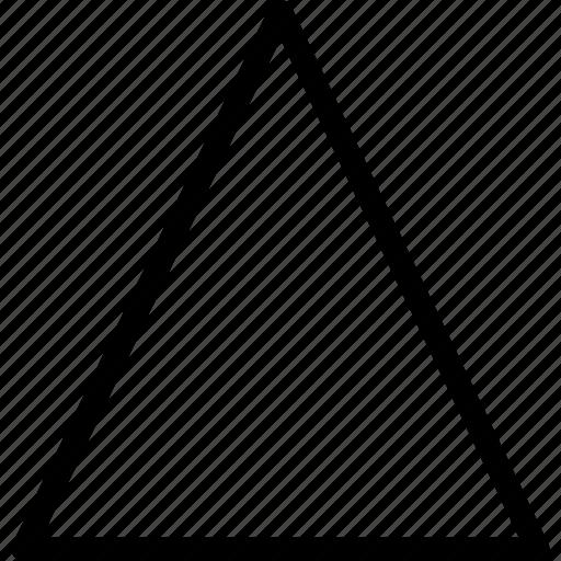 grid, line, shape, triangle icon
