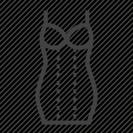 corrective, shapewear, shaping, slip, underwear icon