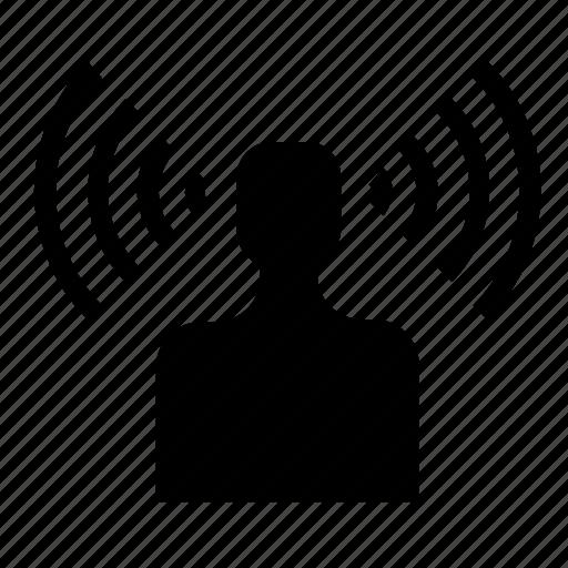 hotspot, network, signal icon