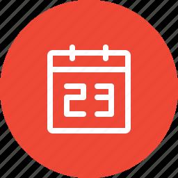 calendar, date, event, month, organizer, planner, schedule icon