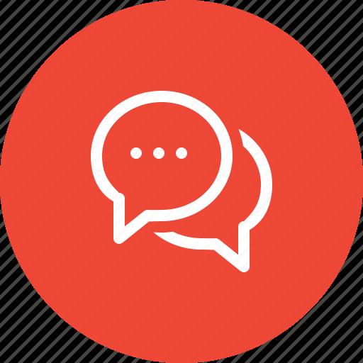 bubble, chat, comments, communication, message, skype, talk icon