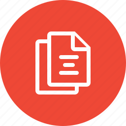 copy, copy document, documents, file, format, page, paper icon