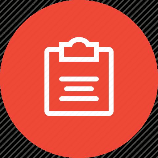 calendar, checklist, note, organizer, plan, planner, schedule icon