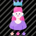 crown, customer, female, loyalty, princess, vip, woman