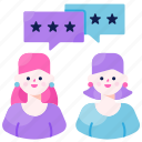 customer, experience, feedback, quality, rating, review, satisfaction icon