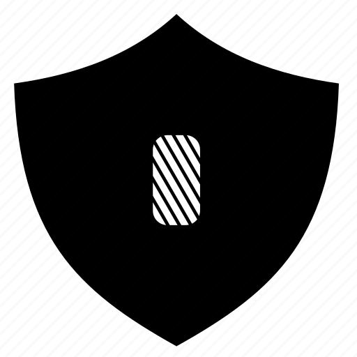 dark, locked, protection, security, shield icon