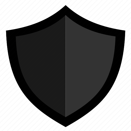 dark, padlock, protection, secure, security, shield icon
