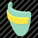 agreement, award, cartoon, commonplace, isometric, normal, shield