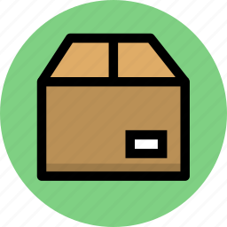 box, cargo, delivery, goods, logistic, logistics, package, parcel icon