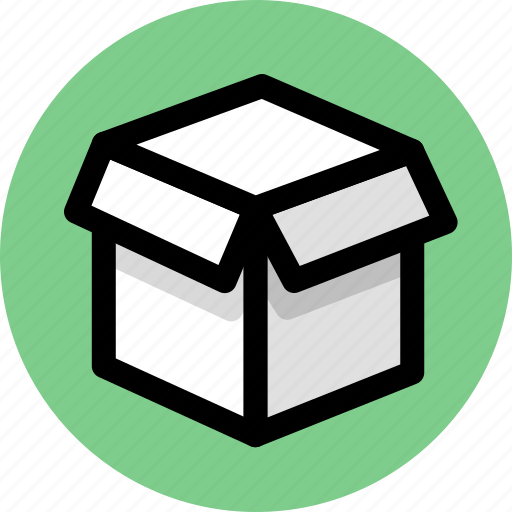 box, cargo, goods, logistics, package, parcel icon