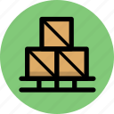cargo, commerce, goods, shipping icon