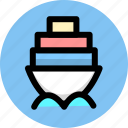 cargo, delivery, goods, logistics, shipping, transport icon